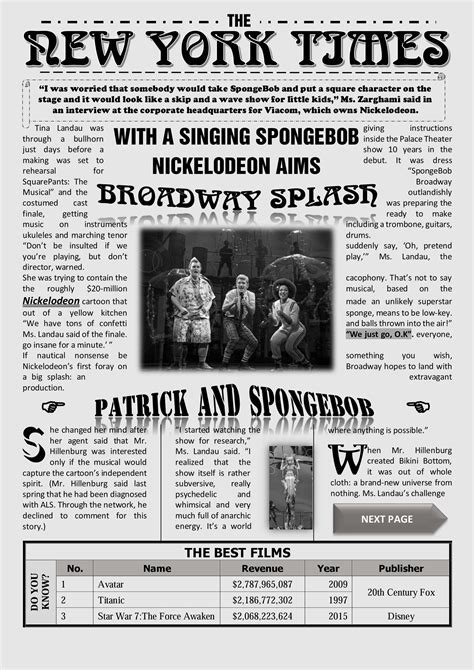 newspaper template word free newspaper template on word new york times newspaper