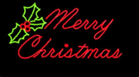 large lighted outdoor merry christmas sign sold in houston tx lettered signs