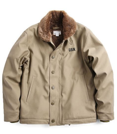 Jacket Anak N 1 usn navy n1 n 1 deck jacket khaki original new surface type 4 sizes ebay