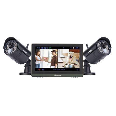 lorex 4 channel wireless 720p hd surveillance system with