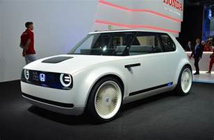 Small Bench Seats Honda Unveils Quirky Looking Urban Ev Concept News