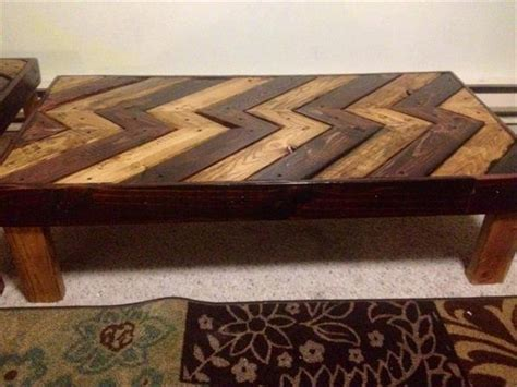 diy pallet coffee table end table