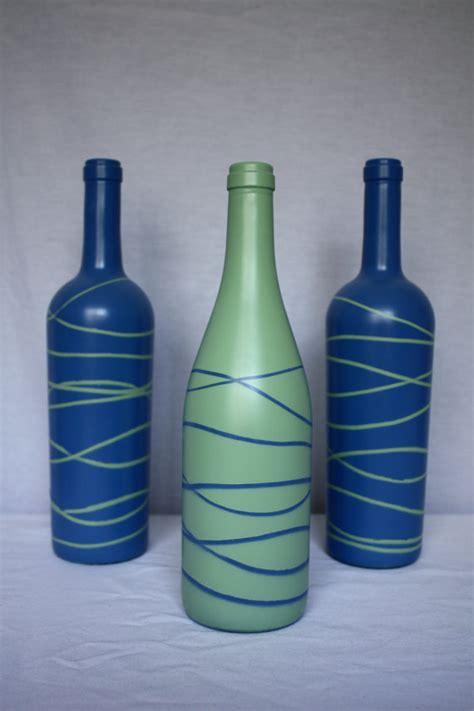 Wine Bottles As Vases wine bottle vases by fortune8614 on etsy