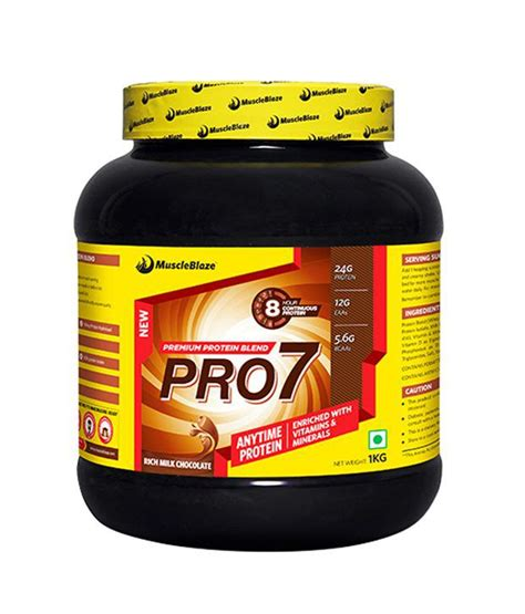 7 protein blend muscleblaze pro7 protein blend buy proteins sports