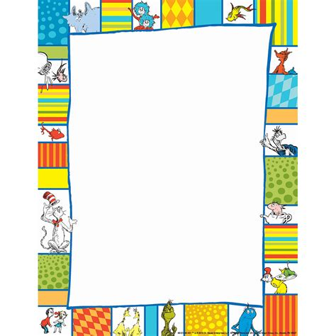 libro the presidents hat dr seuss shapes computer theme paper eureka