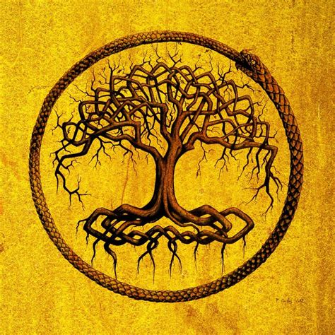 yggdrasil by carles on deviantart