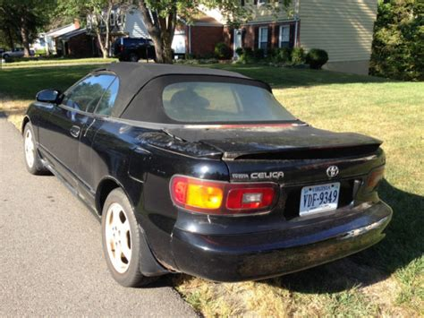 old car owners manuals 1992 toyota celica transmission control 1992 toyota celica gt convertible runs but engine needs major work classic toyota celica