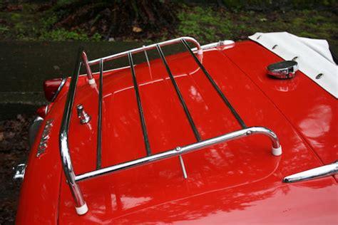 Sports Car Luggage Rack 1961 triumph tr3 overdrive sports car shop