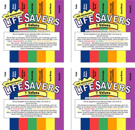 { Mormon Share } Life Savers Wrappers: New Beginnings
