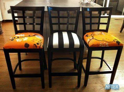 matching bar stools and kitchen chairs this redo is super cool awesome before and after pics