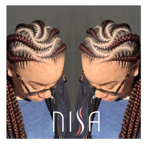 multilayer cornrows multi layered cornrows precision by nisaraye black hair