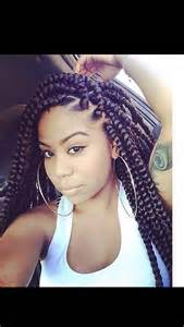 hair block braiding styles jumbo box braids long hairstyles