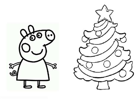 christmas colouring pages peppa pig peppa pig coloring pages halloween coloring home