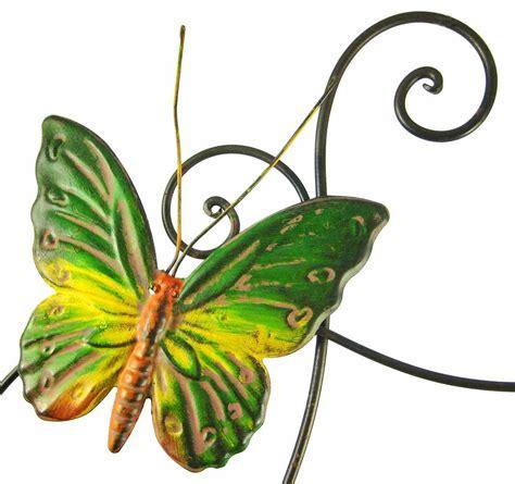 Butterfly Walldecor 40rb butterflies metal wall sculpture decor indoor hang home flower 3d butterfly ebay