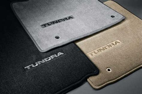 new 2007 2011 toyota tundra carpeted floor mats from