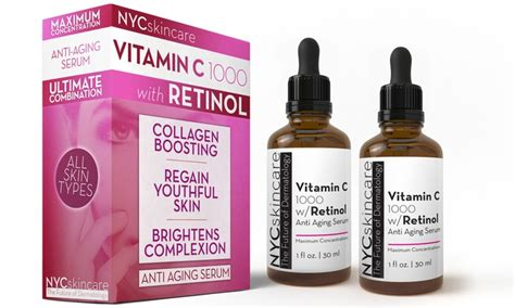 Terbaru Serum New Pack Original nyc skincare vitamin c 1000 with retinol serum pack of 2 check back soon blinq