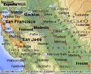 patterson ca map my