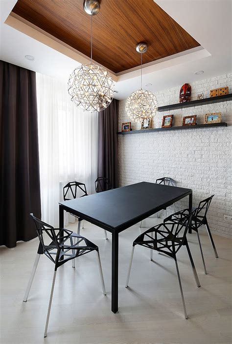 wall room 50 bold and inventive dining rooms with brick walls