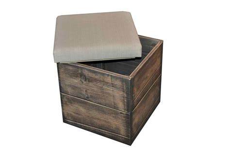 The Box Seat storage box or seat omero home