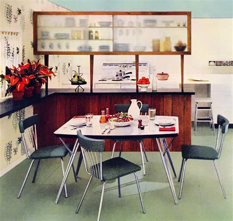1950s home decor plan59 retro 1940s 1950s decor furniture daystrom dinette 1953