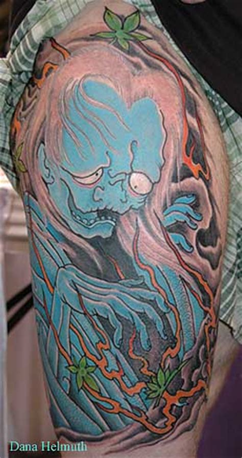 oriental ghost tattoo celebrity image gallery ghost tattoos