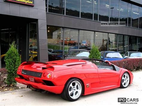 Lamborghini Diablo Sv Specs 2001 Lamborghini Diablo Sv Roadster Car Photo And Specs