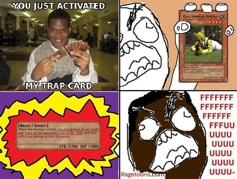 You Ve Activated My Trap Card Meme - image 63515 you just activated my trap card know