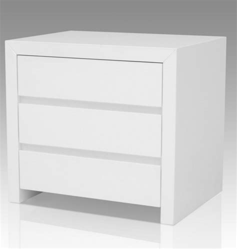 white bedroom nightstands 7 modern white nightstands for a contemporary bedroom