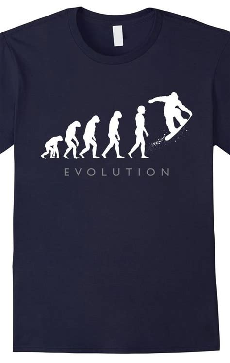 Tshirt Evolution Snowboarding gifts the o jays and snowboarding on