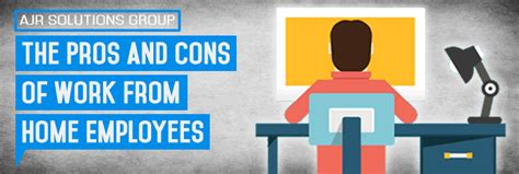 the pros and cons of work from home employees