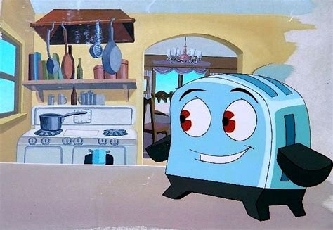 Brave Little Toaster Goes To Mars The Brave Little Toaster Cel And Background Painting In C E S Disney Studio Pt 11 T V