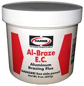 Flux Aluminium Al Braze Harris al braze flux the harris products