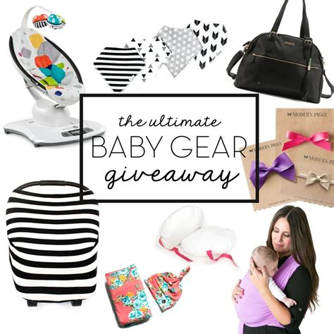Baby Stuff Giveaway - the ultimate twin baby registry list six sisters stuff