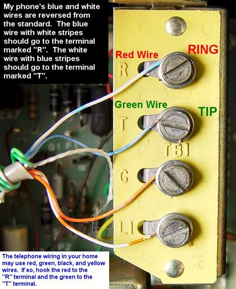 phone line wire colors pictures to pin on