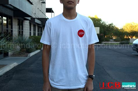 icb motor sports icb motorsport quot i support icb quot v3 white t shirt free shipping