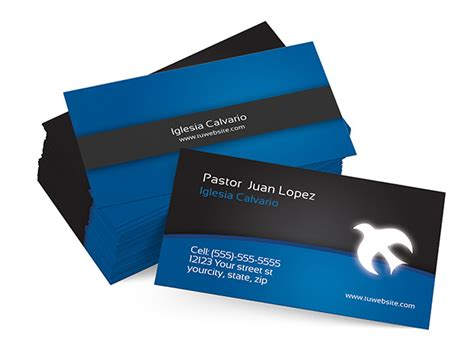 Free Pastor Business Card Templates 9 christian business cards psd images church business