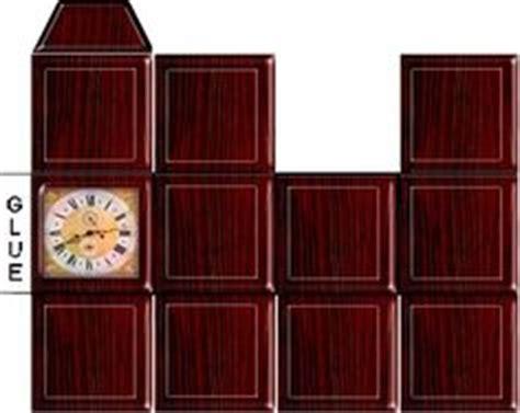 Papercraft Clock - 1000 images about kijkdoos diorama on