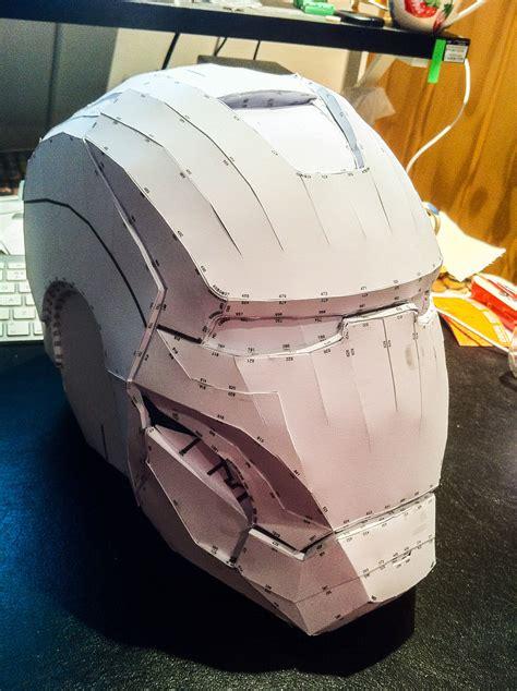 Iron Helmet Papercraft - costuming with pepakura mhatomicjukebox