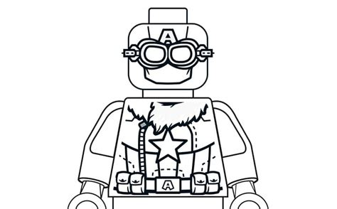 coloring pages lego captain america pilot captain america coloring page activities