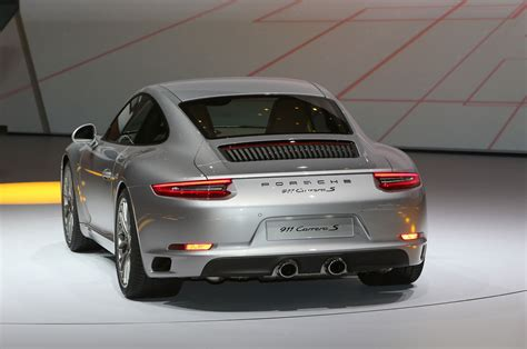 porsche carrera back 2017 porsche 911 carrera gets all turbocharged engine lineup