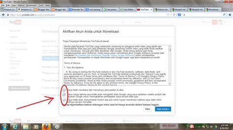 adsense youtube indonesia cara memasang google adsense di youtube tips dan trik