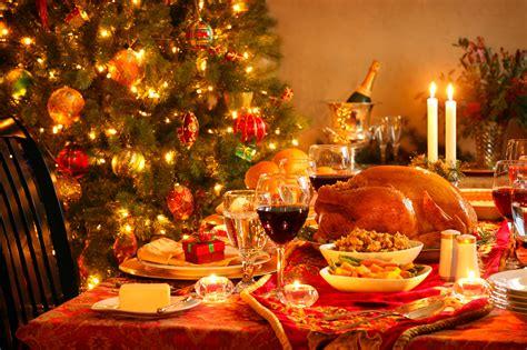 wonderful christmas dinner winter christmas wallpaper
