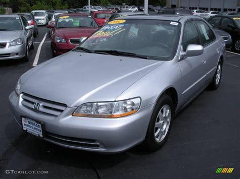 Honda Accord Se by 2002 Satin Silver Metallic Honda Accord Se Sedan 10050398