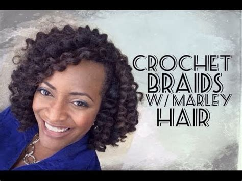 the best hair to use when crocheting 55 crochet braids with marley hair youtube
