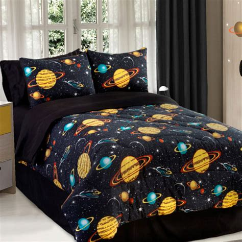 space bed sheets space bed sheets 3pc rocket star space galaxy twin bedding