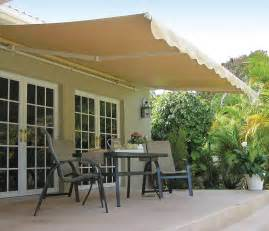 Sunsetters Awnings 15 Ft Sunsetter Motorized Outdoor Retractable Awning By