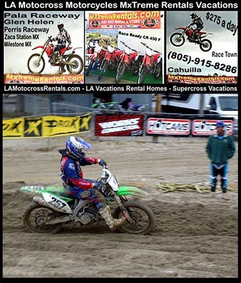 motocross gear los angeles motorbike la motocross supercross dirt bike rentals los