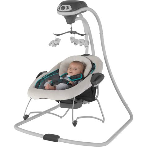 bouncer and swing combo graco duetconnect swing baby bouncer bristol removable