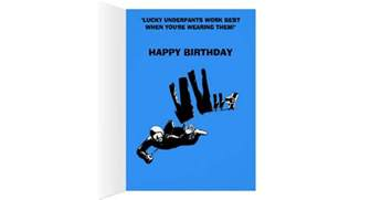 funny skydiving birthday greeting card zazzle