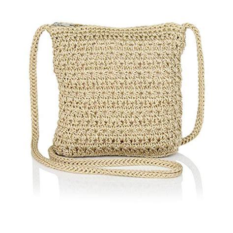 crochet pattern purse organizer boho crochet crossbody handbag organizer sling bag small
